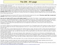 The EMI - RFI page