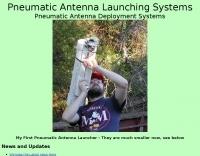 Pneumatic Antenna Launching Systems