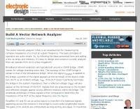 Build A Vector Network Analyzer