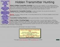 Hidden Transmitter Hunting