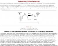 DXZone Germanium Noise Generator