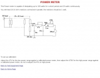 DXZone G3PTO Power Meter