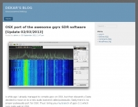 DXZone GQRX for MacOS