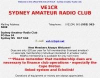 VE1CR Sydney Amateur Radio Club