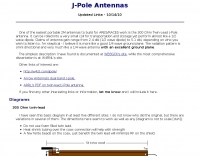 J-Pole antennas