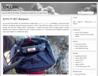 SOTA FT-857 Manpack