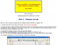 DXZone Using VNA to adjust Linear amplifiers