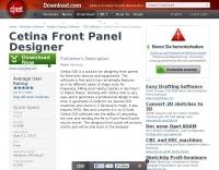 DXZone Cetina Front Panel Designer