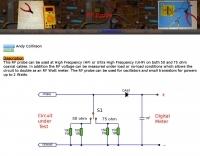 RF Probs and Watt meter