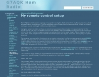 DXZone G7AQK remote control setup