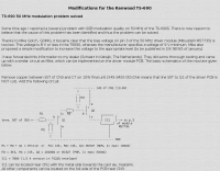 Kenwood TS-690 Modulation Mod