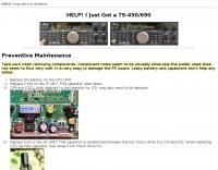 Kenwood TS-690S Maintenance