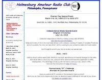 DXZone Holmesburg Amateur Radio Club