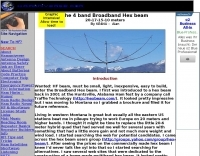 4 band Broadband Hex-beam Antenna