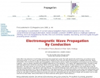 Electromagnetic Wave Propagation by Conduction