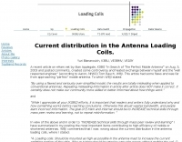 DXZone Current distribution in Coils