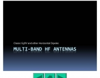 Multiband HF antennas