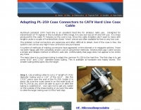 PL-259  to CATV Cable
