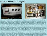 Repairing an FL2000B linear amplifier