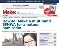 A multiband EFHWA for amateur radio