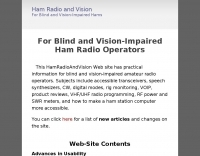 Ham Radio and Vision