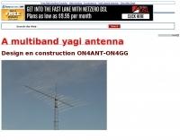 A Multiband Yagi Antenna Project