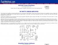 60 W Linear Amplifier Circuit