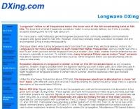 Longwave DXing