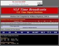 DXZone VLF Time Broadcasts