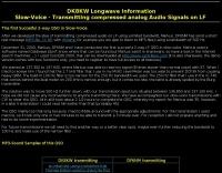 DXZone Longwave Information