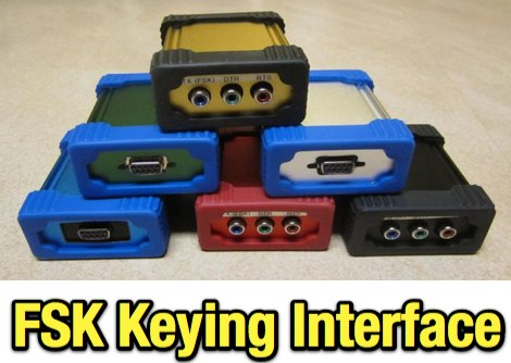 DXZone FSK interface and CW Keying Interface