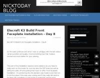 Elecraft K3 Build Front Faceplate installation