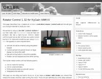 DXZone Rotator Control for HyGain HAM-IV