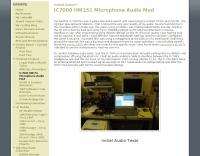 IC7000 HM151 Microphone Audio Mod