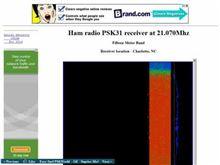 15 Meter Online PSK31 Receiver