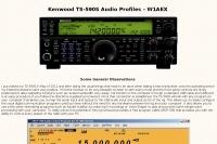 Kenwood TS-590S Audio Profiles