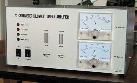 70cm KW Amplifier