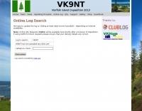 VK9NT Online Log