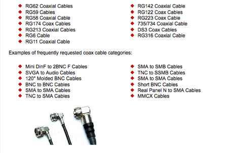 DXZone Ekris cable