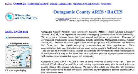 Outagamie County ARES RACES