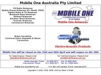 Mobile One Antennas