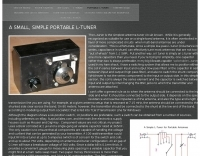 Portable L-Tuner