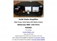 High Power Solid State 600 Watts Amp