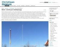 80 Meter vertical Loop