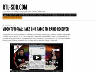 DXZone rtl-sdr.com  A blog about RTL-SDR