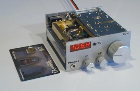 20m CW QRP Transceiver