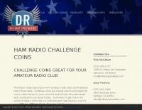 Ham Radio Challenge Coins