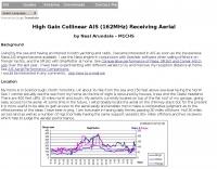 High Gain Collinear AIS Antenna