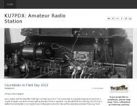 KU7PDX Amateur Radio Station
