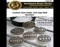 Custom Call Sign Buckles